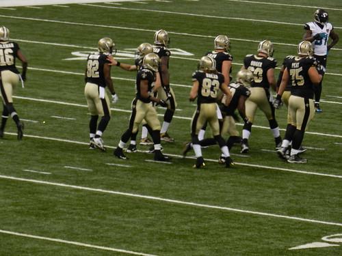 New Orleans Saints vs Jacksonville Jaguars