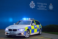 NK13 DGZ (S11 AUN) Tags: car durham traffic police bmw vehicle roads emergency touring unit 999 3series rpu constabulary policing 330d xdrive anpr policeinterceptors nk13dgz