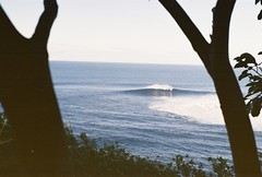 25ft waves at Jaws (6isdead) Tags: film 35mm hawaii maui surfing jaws minoltax370 peahi bigwave 6isdead