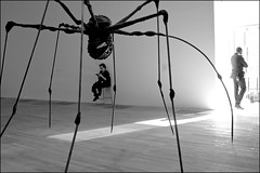 Spider guards - DSCF7726a (normko) Tags: london spider tate modern art gallery louise bourgeois maman mother metal sculpture