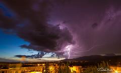 Thunderstorm over Ras El Aioun (Batna, Algeria) (zedamnabil) Tags: thunderstorm lightning storm rain rainy stormy weather algeria algerie batna raselaioun    sunset dusk night longexposure zedamnabil dzflickrs