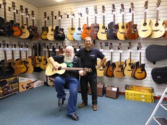 Takamine Guitar Competition Presentation (opalpics) Tags: takamine guitar rimmers musicshop competition pete barrie blackpool lancashire