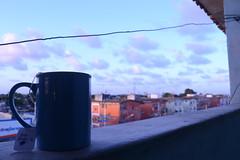 (igorduane) Tags: tea cup citty light purple cotidian calm sky cloud