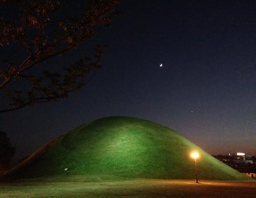 Silla tombs in Gyeonju