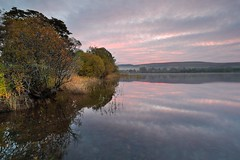 Lakeland Dawn (midlander1231) Tags: lakedistrict englishlakes cumbria landscape autumn colour color water lakes ullswater mist trees sunrise sunset britain england nature