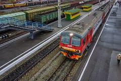 Tomsk-1 Railway Station.   -1. (VX_GAS) Tags:    rx100 tomsk railway russia sony   station    4   sibirea   transsiberianrailway