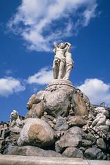 """Montpellier - Brunnen """"Les trois graces"""" (astroaxel) Tags: frankreich montpellier brunnen trois graces"""