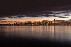 An attempt to fill in the emptiness (marcusklotz2014) Tags: seattle sunrise cityscapes washingtonstate