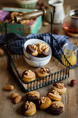 IMG_3880_exp (Helena / Rico sin Azúcar) Tags: galletas cookies nueces nuts walnut naranja orange almendra almond chocolate vanilla vainilla mantequilla butter dessert food christmas