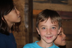 Olsen face (Aggiewelshes) Tags: october 2016 lehi utah travel museumofnaturalcuriosity thanksgivingpoint waterworks olsen cailin