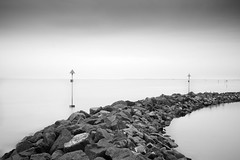 lagoon (Upscape) Tags: blackandwhite longexposure nd110 10stop sea rocks bw