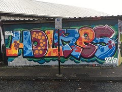 Holmes (Khemical Burnz) Tags: graffiti walls holmes newcastlegraffiti holmesgraffiti