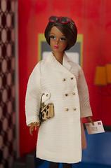 Francie (Princess Di-O-Rama) Tags: fuschianfurreproductionfrancie silkstone francie notethecoat1289 mattel