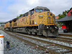 Union Pacific 6835 (Photo Squirrel) Tags: ac44cw ge trainstation brunswickmd