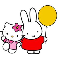 []LINE20 (sutaemon) Tags: sticker message    hello kitty miffy nijntje pluis