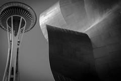 Seattle b&w (matwolf) Tags: seattle woshington usa spaceneedle bb blackandwhite bw black blanc blackwhite noiretblanc ngc noir noirblanc architecture architektur schwarz schwarzweis