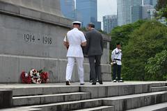 Img557698nx2 (veryamateurish) Tags: singapore remembranceday armisticeday wreathlaying cenotaph padang connaughtdrive singaporecricketclub