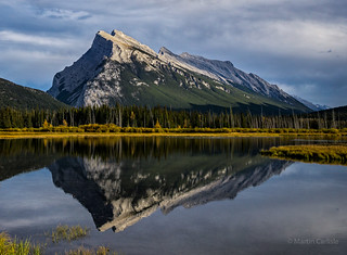Mount Rundle Reflection, Vermillion Lakes