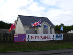 Moygashel County Tyrone - Unionist / Loyalist cultural and historical / political commemoration (seanfderry-studenna) Tags: moygashel county tyrone northern ireland ulster volunteer force 36th division posters signs commemoration murals banners political cultural historical protestant unionist loyalist british orange order great war first world ww1 expression queen elizabeth ii royalty village rural outdoor outside public lol 708 rbp 1052 wlol 106 royal black preceptory
