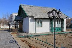 Gagarin's house on the Baikonur cosmodrome (Brigitte Bailleul) Tags: baikonur cosmodrome kazakhstan museum gagarin