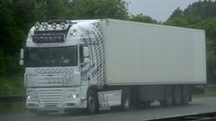 D - Dobner >Bavarian Liner< DAF XF 105 SSC (BonsaiTruck) Tags: dobner bavarian liner daf xf 105 ssc lkw lastwagen lasdtzug truck trucks lorry lorries camion
