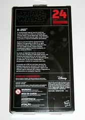 star wars the black series 6 inch action figures 2016 red packaging rogue one #24 K-2SO rogue one hasbro misb b (tjparkside) Tags: star wars black series 6 inch action figures 2016 red packaging rogue one 24 k2so hasbro misb tbs six reprogrammed imperial security droid droids rebel alliance secret base insertion agent disney story