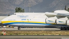 "Antonov An-225 ""Mriya"" / Antonov Airlines / UR-82060 (Vicente Quezada /// Photography) Tags: antonov an225 mriya airlines ur82060 scel sueo scl santiago chile primera visita first visit special visitor carga cargo carguero six engine international transporter adb design bureau"