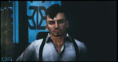 InSilico Headshot (The Gentleman Dystopic) Tags: secondlife insilico cyberpunk aeon scifi