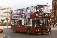 LOTHIAN REGIONAL TRANSPORT 862 J862TSC (bobbyblack51) Tags: lothian regional transport 862 j862tsc leyland olympian alexander rh edinburgh 1996
