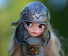 Blythe helmet
