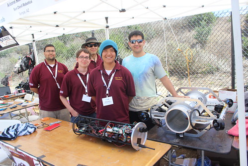University of Arizona with their AUV