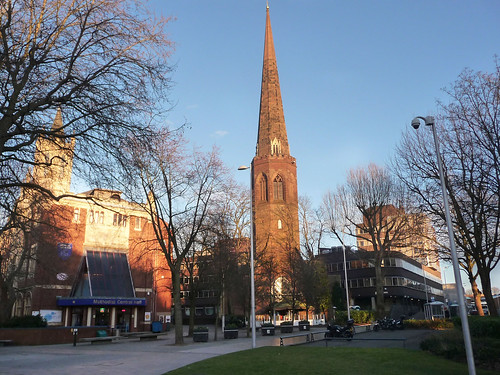 Christchurch Spire_New Union Street_Coventry_Feb15