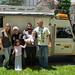 Visita aos amigos Avi, Bathia, Maia e Talia