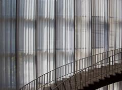 Dreamy staircase (aerojad) Tags: sunlight chicago art lightsandshadows shadows artinstituteofchicago chicagoist