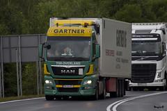 """Man Tgx Euro6 xxl """" GARTNER KG """" (RO) (magicv8m) Tags: man transport kg trans gartner lkw tir tgx euro6"""