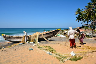 India - Kerala - Varkala - Fishermen - 1