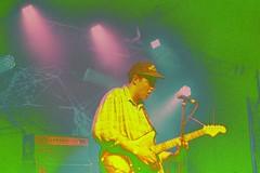Hockey Dad @ the Newport Hotel (ijarosek) Tags: pink blue music green film hockey yellow 35mm lights hotel dad purple live slide 1600 newport 100 pushed pentacon psychedelic 18 fremantle provia praktica provia100f tl5b prakticatl5b fuckedfilm