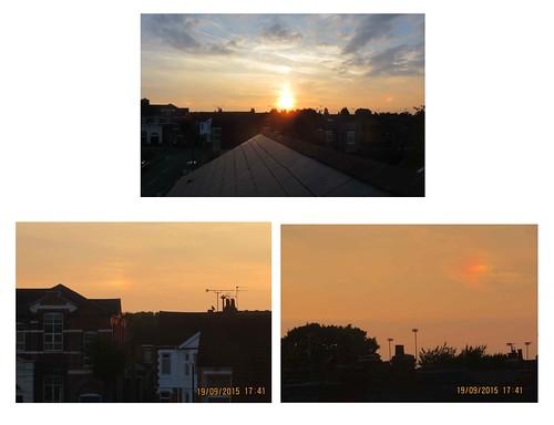 2015_09_190001n - two sundogs plus the setting sun
