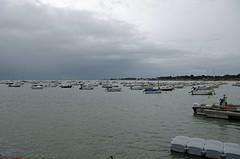 Prfailles (Loire-Atlantique) (sybarite48) Tags: sea mer france boot boat mar meer barca mare barco zee bateau  deniz brace  d  tekne pointesaintgildas morze   loireatlantique      prfailles anseduboucau