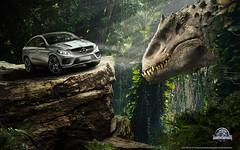 2015 Mercedes-Benz Vehicles in Jurrasic World (Eddie Phm) Tags: daimler pressphoto presse