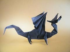 KNL Dragon, opus 132 - Robert Lang (Rui.Roda) Tags: robert origami dragon papiroflexia lang opus 132 knl drago papierfalten