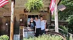 Boys at the Old Sautee Store (Bella Lisa) Tags: falls helen annarubyfalls tubing cascade sautee cascada chattahoocheeriver helengeorgia nacoochee warefalls oldsauteestore