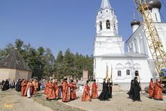 063. Patron Saints Day at the Cathedral of Svyatogorsk / Престольный праздник в соборе Святогорска
