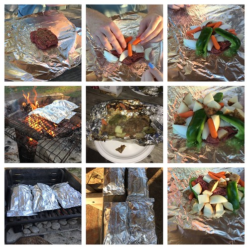Foil Dinners by Campfire on the Guadalup by Wesley Fryer, on Flickr