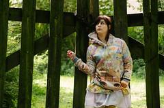 Manon - La Rose Noire (Denis G.) Tags: portrait pentax 50 k5 2015 outdor 50135 extrieur
