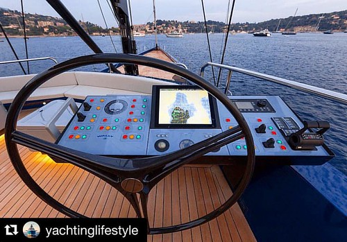 "Sailing sailing and sailing again❤️ #Repost @yachtinglifestyle  S/Y ""BETTER PLACE"" 💙 by Wally Yachts. Photo by Gilles Martin-Raget, Toni Meneguzzo #yachtinglifestyle"