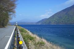 Lake Motosu (Iyhon Chiu) Tags: lake japan spring mountfuji d750   mtfuji yamanashi  2015 motosu    motosuko fujifivelakes lakemotosu
