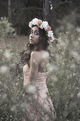 (lauren.bonnett) Tags: flowers nature girl beautiful model photoshoot flowercronw