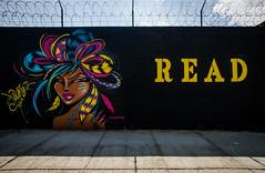 Toofly mural  - Astoria, Queens, NYC (john fullard) Tags: nyc streetart newyork graffiti mural read queens astoria 2015 toofly
