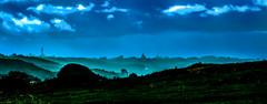 Mist over Braye (Mallybee) Tags: blue mist clouds hills fujifilm 60mm fujinon braye xt10 mallybee